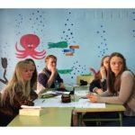 Alumnos de la escuela internacional de español