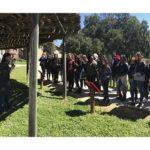 Practicas en grupo con Liceo Hispánico