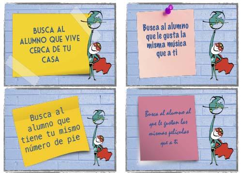Recursos español | Presentaciones - busca al alumno