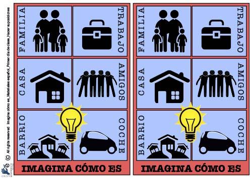Materiales español | Suposiciones para el primer día de clase