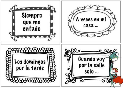 Actividades ELE de gramática española - Marcadores.