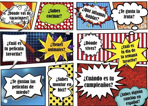 Hablar español - Actividades ELE Presente indicativo