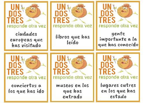 Materiales para aprender español | Pretérito Perfecto.