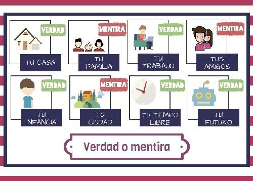 Recursos ELE | Verdad o mentira, gramática española.