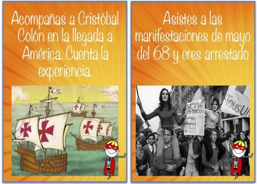 Materiales Español LE para el pretérito imperfecto.