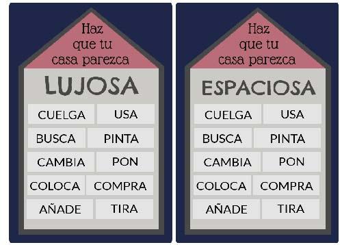 Aprender español: léxico de la casa.
