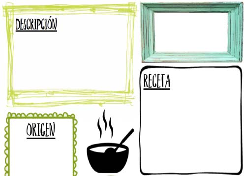 Recursos ELE y léxico de la comida española