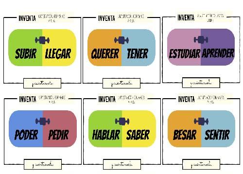Actividades ELE: gramática española.