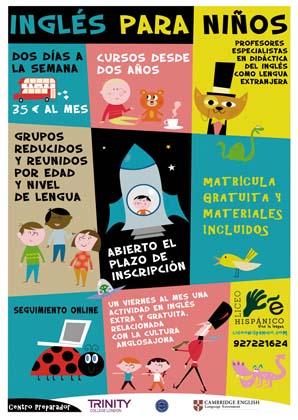 Inglés para niños.