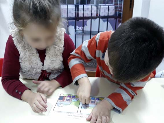 Materiales de inglés para niños.