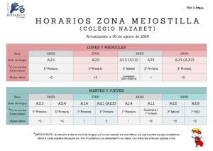 Inglés para niños Cáceres Mejostilla - Colegio Nazaret