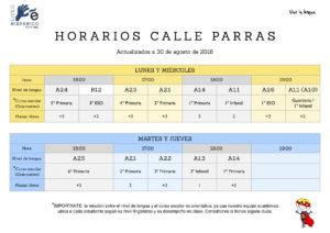 Inglés para niños Cáceres zona Centro - Calle Parras