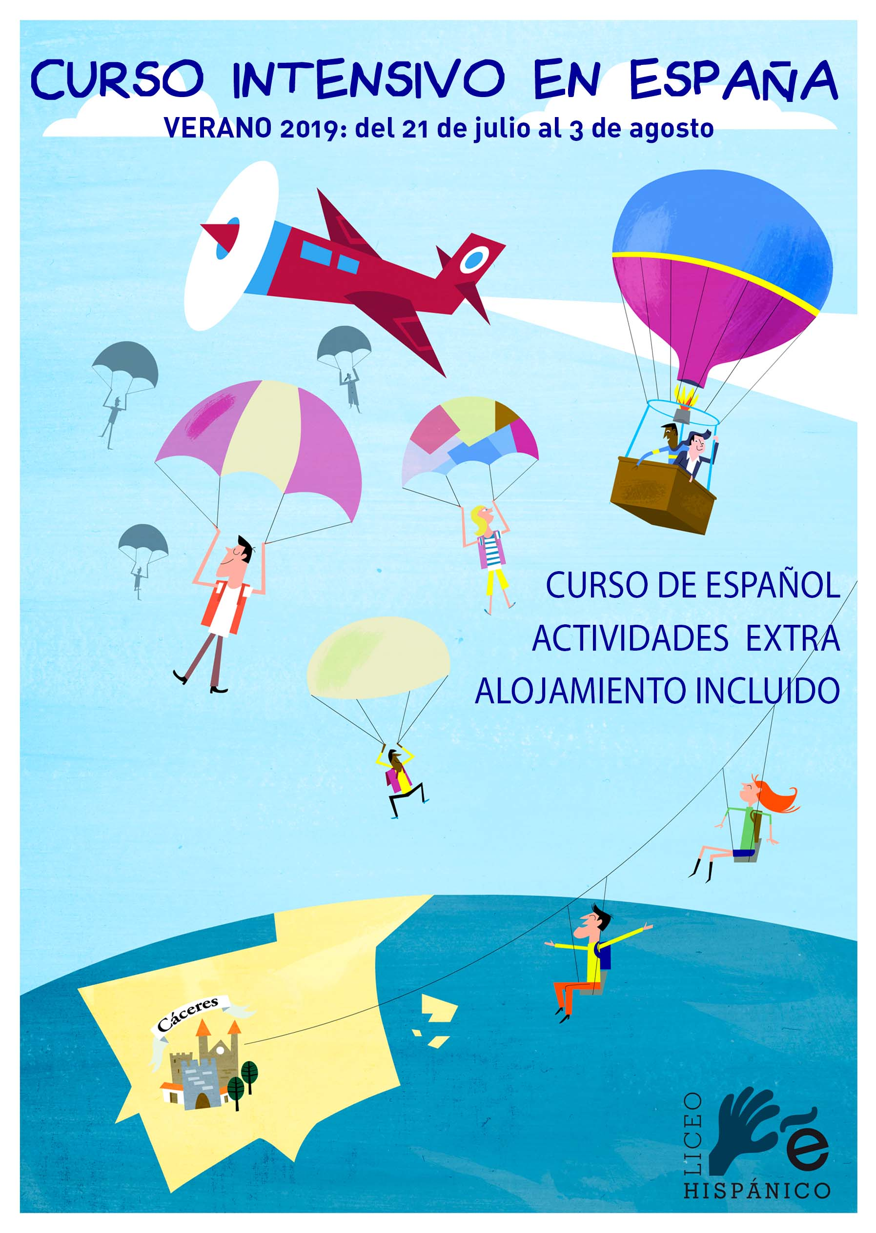 Curso verano espana.