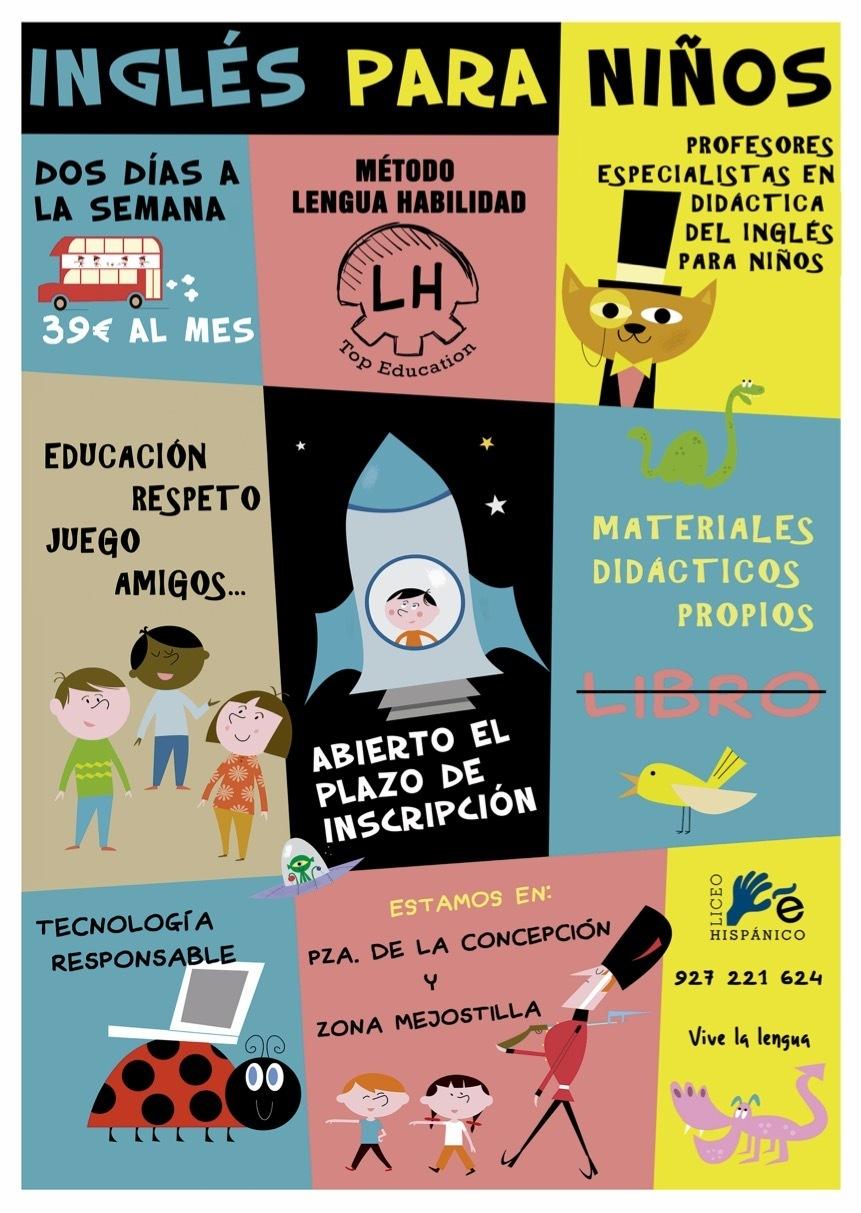 Inglés Niños Cáceres